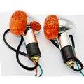 Сигнальные огни для мотоцикла  2 шт.  желтая Хвостовая пуля  поворотные сигнальные огни для Suzuki introder volusion VS 700 750 800 1400 1500