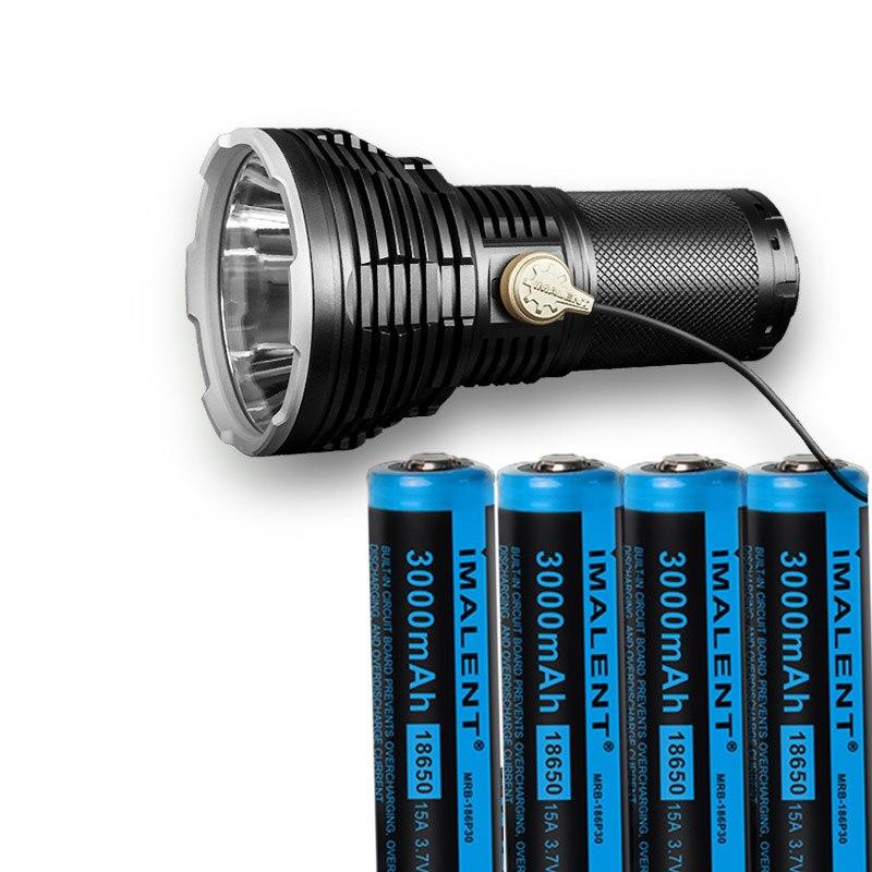 IMALENT RT35 USB Магнитная заряжаемый фонарик CREE XHP35 HI светодиодный Макс 2350 люмен луч расстоянии 1338 м уличный фонарик + 4 X батареи
