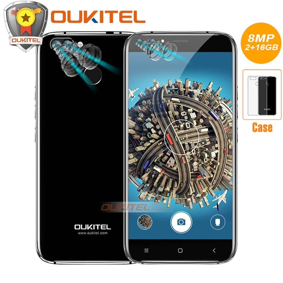 Original Oukitel U22 Four Cameras 5 5 Mobile phone Android 7 0 MTK6580A Quad Core 8MP