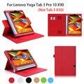 Роскошный Кожаный PU YOGA Tab 3 плюс Чехол Для Lenovo Yoga Tab 3 Pro 10X90 YT3-X90F/X90L Смарт-Чехол Tablet Рук Владельца Принципиально