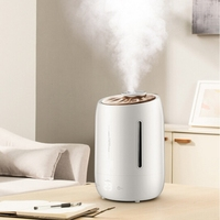 DMWD 5L Ultrasonic Humidifier Intelligent Digital Display Air Purifier Aromatherapy Essential Oil Diffuser For Office