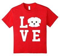 I Love My Dog Maltese Animal Lover T Shirt 100 Cotton Men Women T Shirt Tees