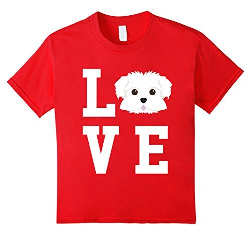 ac3b0c5a17d2 I Love My Dog Maltese Animal Lover T-Shirt 100% Cotton Men Women T Shirt  Tees New Design Cotton Male Tee Shirt Designing