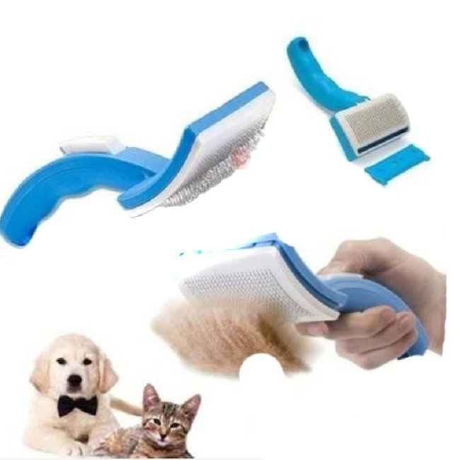 Pet Comb Clean Shedding Tool Fine Hair Trimmer Attachment