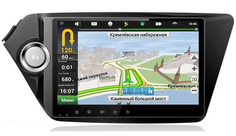 Prix pour Quad Core 9 pouce 1024*600 Android 5.1.1 Voiture DVD GPS Navigation pour Kia K2 RIO 2010 2011 2012 2013 2014 2015 Stéréo Radio WIFI 3G