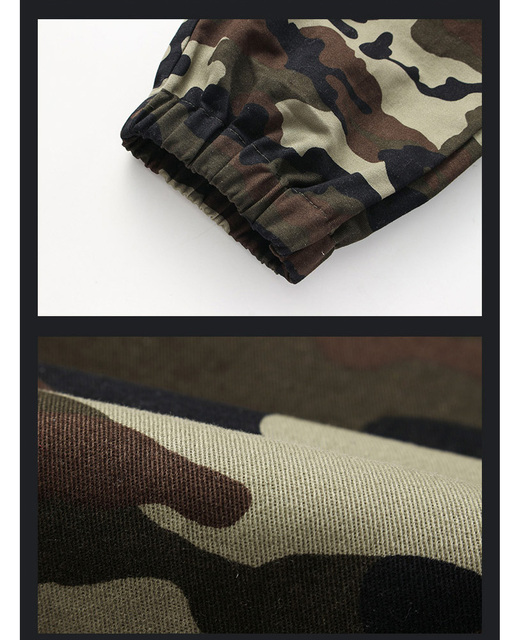 new arrivals fashion men camouflage military pants joggers sweatpants   trousers 5XL ACL24 6