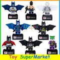 8 шт. Мини Игрушки Бэтмен фигурку Building Block Кирпичи Модель Собрать Два Лица Босс Super Hero Совместимо С Lego SY