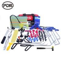 PDR инструменты Крючки из нержавеющей стали толкатели для удаления вмятин автомобиля тела вмятин ремонт обратный молоток безболезненный вм