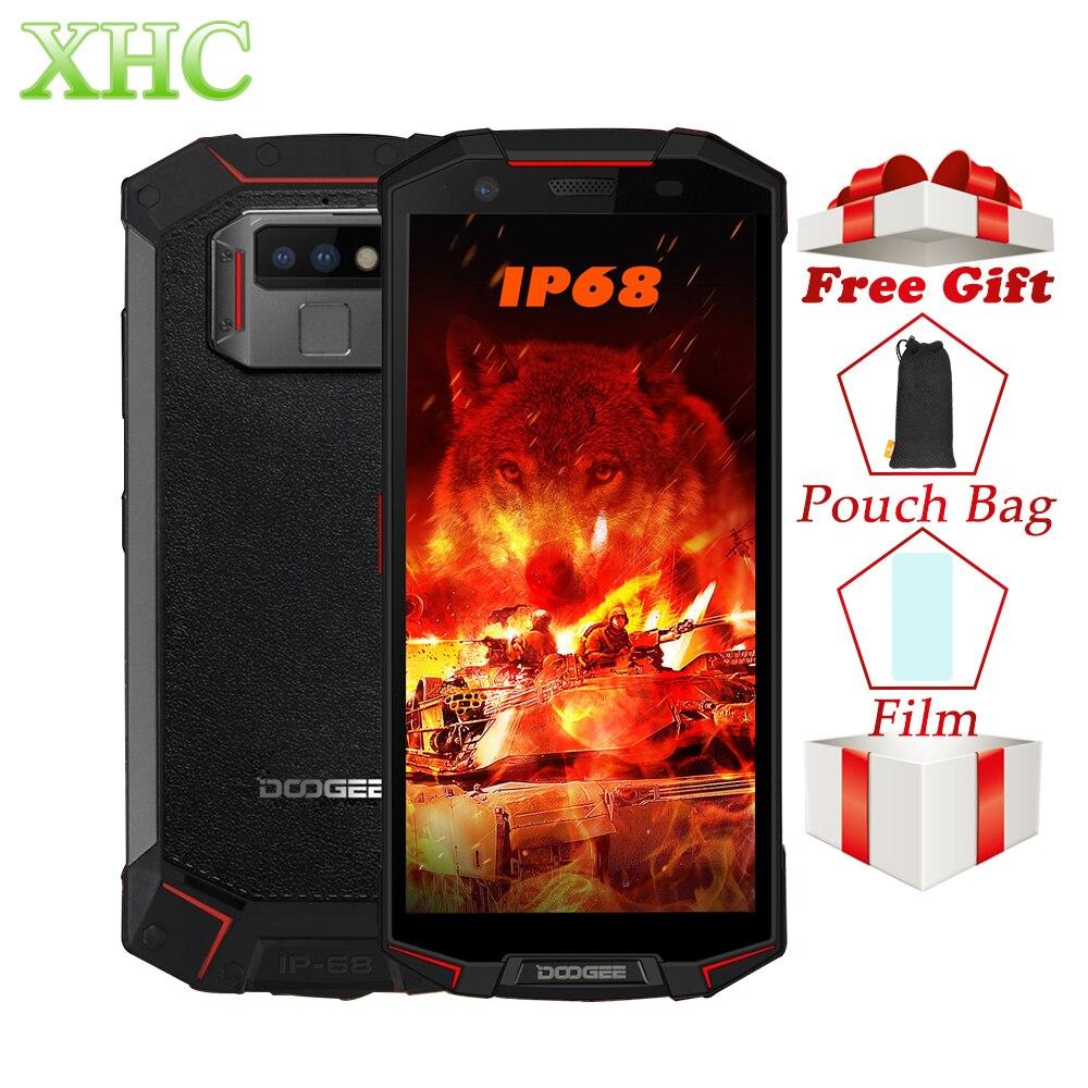 Купить DOOGEE S70 6 ГБ 64 ГБ IP68 Водонепроницаемый смартфонов 5,99 дюймов Android 8,1 Helio P23 Восьмиядерный 16MP 12MP Dual SIM NFC мобильных телефонов на Алиэкспресс