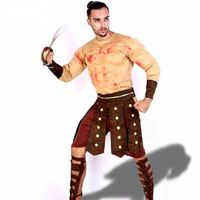 Halloween Masquerade Cosplay Clothing Muscle Mass Clothing Samurai Demon Samurai Clothing For Men