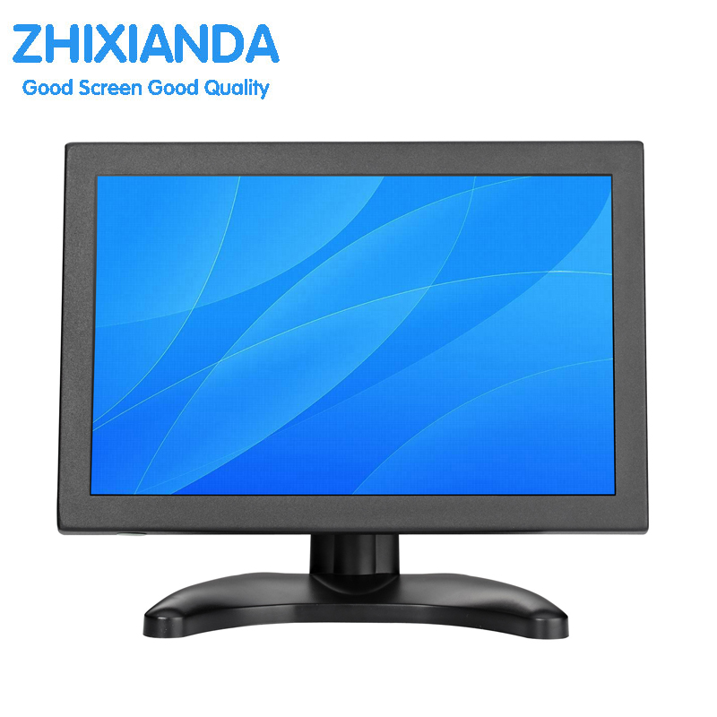 10.1 inch LCD monitor display LED monitor display industrial monitor with VGA/BNC/AV/HDMI/USB interface 10 4 inch 4 3 industrial security surveillance monitor pc lcd computer screen display with vga av usb hdmi tv interface