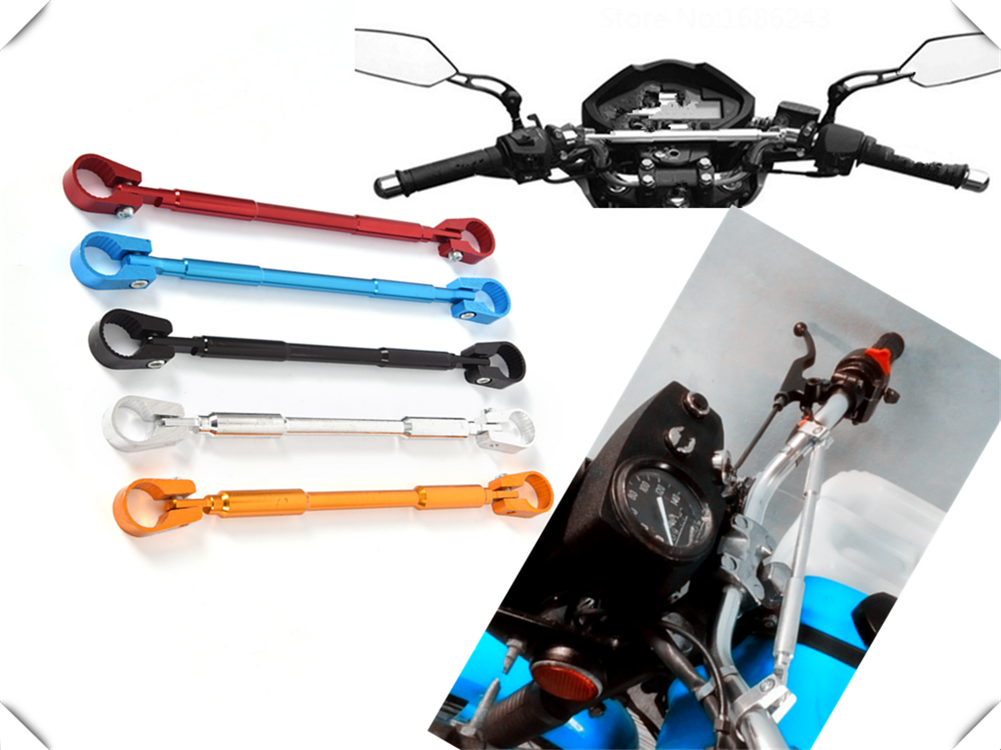 Motorcycle handlebar reinforcement rod crossbar <font><b>lever</b></font> accessories for KTM Bajaj <font><b>PulsaR</b></font> <font><b>200</b></font> <font><b>NS</b></font> 1190 AdventuRe R 1050 RC8 Duke image