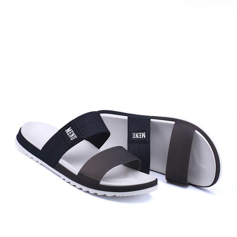 LAISUMK Summer Beach Men Slippers Casual Shoes Double Buckle Man Slip on Flip Flops Flats Camouflage Flip Flop Indoor & Outdoor 75