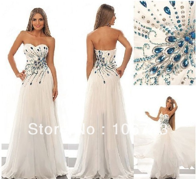 2018 vestido de noiva Floor-length free Shipping Rhinestone Pattern Beading Chiffon Custom bridal party gown   bridesmaid     dresses