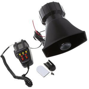 Image 1 - Dragonpad 100W 7 ses araba elektronik uyarı Siren motosiklet alarmı İtfaiyeciler ambulans hoparlör MIC ile hava Loud araba kornası