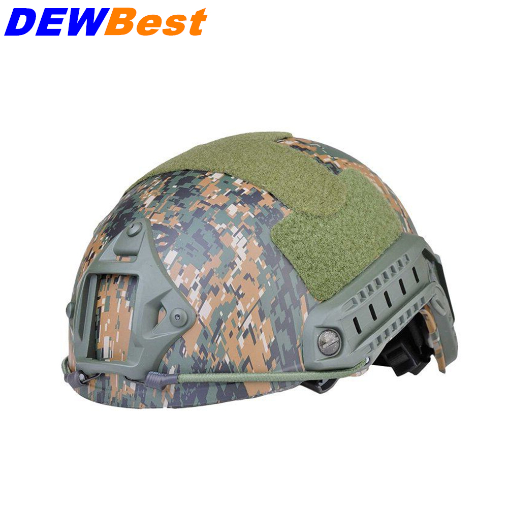 Security & Protection Dewbest Iso Certified Od Occ Dial Nij Level Iiia 3a Fast High Cut Bulletproof Ballistic Helmet With 5 Years Warranty High Quality And Low Overhead
