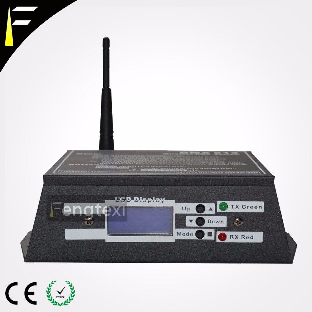 sinal dmx dmx512 de transferencia sem fio 2 45 ghz frequencia 250 m de distancia de