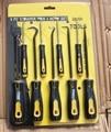 9 pcs Car Automotive Removedor de Gancho E Pick Set Anel-Selo Ofício Passatempo, ferramenta de mão