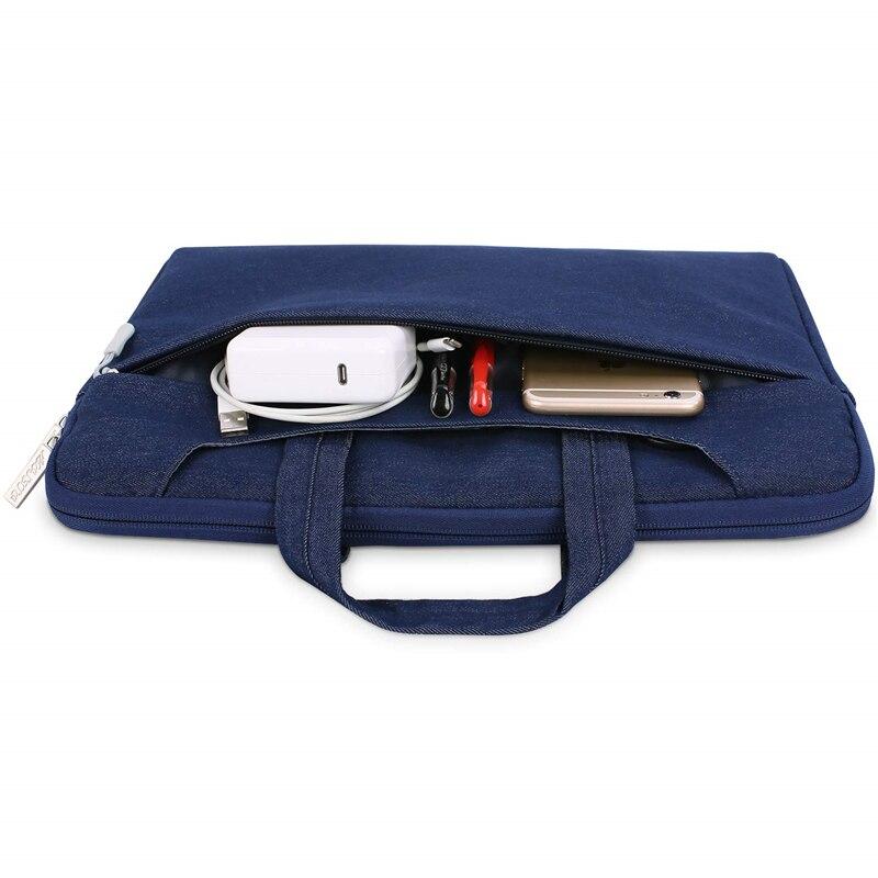 Image 5 - MOSISO Laptop Bag Case 15.6 15.4 13.3 Waterproof Notebook Shoulder Bags Women Men for MacBook Air Pro 13 15 inch  Computer Bag-in Laptop Bags & Cases from Computer & Office