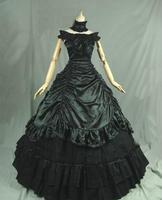 Новинка 2016 г. 18th века Ренессанс викторианской эпохи платье вампир партии бальное платье для женщин