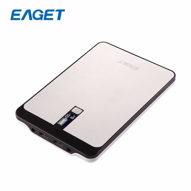 Original EAGET PT96  32000mAh Large Capacity External Battery Packup Portable Laptop Tablet Mobile Power Bank for xiaomi