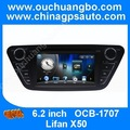 Ouchuangbo Autoradio DVD gps radio multimedia navigation for Lifan X50 with MP3 USB SD swc 2015 free Russia map