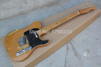 Free Shipping Top Quality F TL Nice Maple Neck Electric Guitar Black Pick Guard Hot