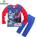 Star Wars Pajamas For Boys Kids Pijamas Children's Sleepwear Boys Pajama Sets Pyjama Jumpsuit Cotton Pajama Sets Cheap Nightgown