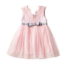 Baby Dress Princess Girls Summer Cotton Sleeveless Cute Fashion 0-2 Years