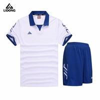 LiDong 2017 Men S Kids Teenage Soccer Shirt Happy Football Set Training Pants Breathable Quick Drying
