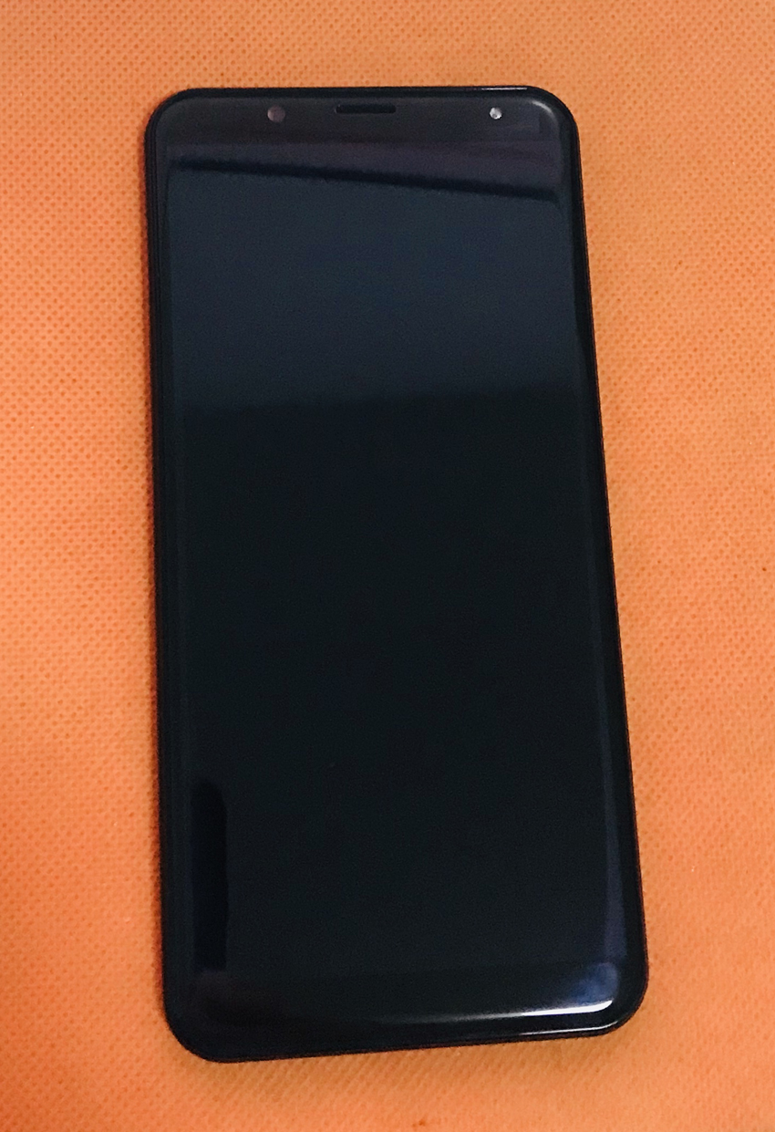 Used Original LCD Display +Digitizer Touch <font><b>Screen</b></font>+ Frame for <font><b>Oukitel</b></font> <font><b>K5000</b></font> MTK6750T Octa Core Free shipping image