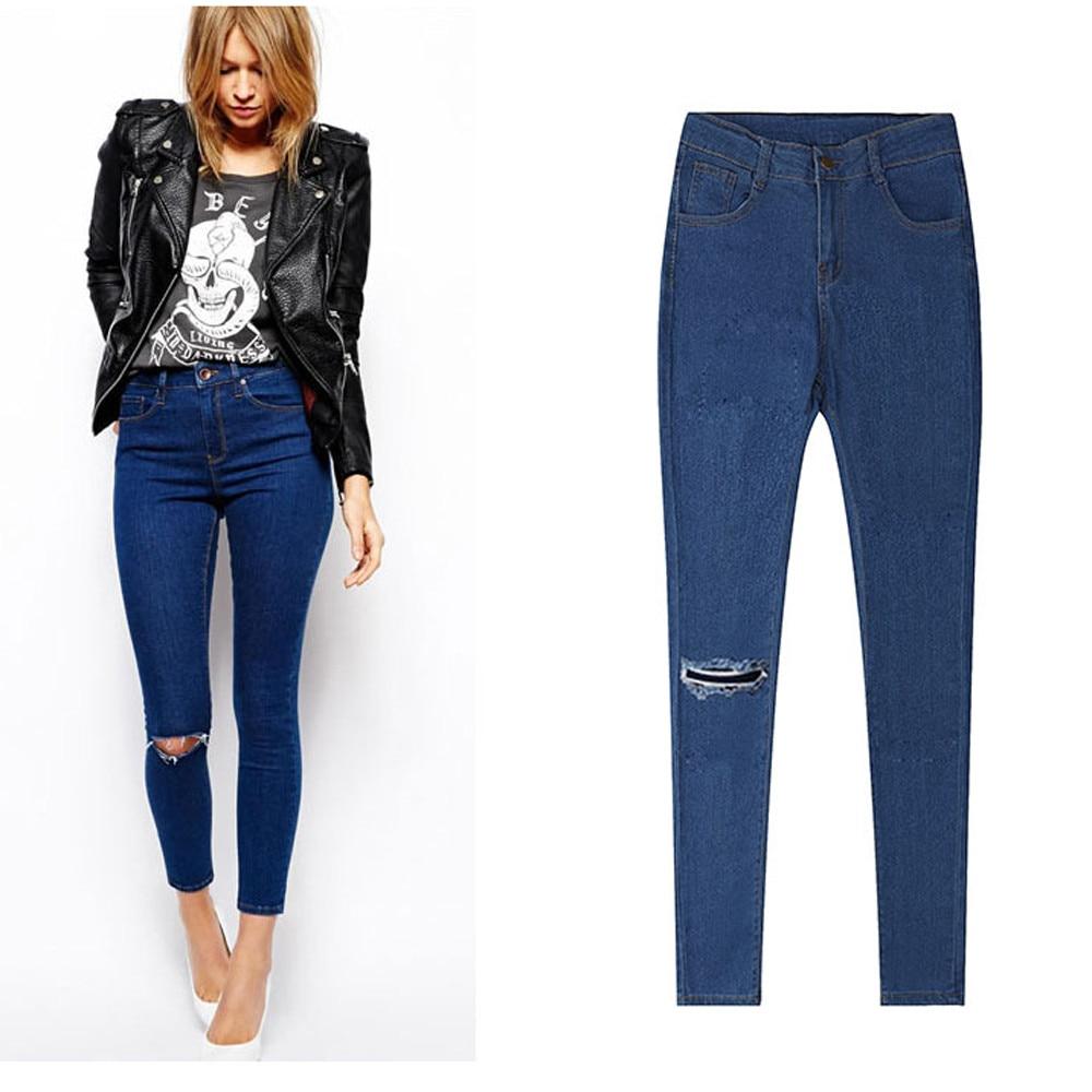 Womens Denim Skinny Jeans Stretch pantalon femme Pencil Trousers Slim casual Comfortable Breathable Long Pants ушм интерскол ушм 230 2300м
