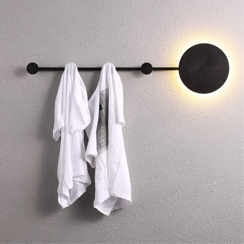 Décor industriel mur LED lumière cintre luminaria de parede applique appliques mur LED lumières pour la maison déco maison