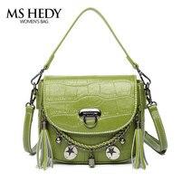 MS HEDY Ladies Tassel Design Women Crossbody Messenger Bag Female Small Chain Sling Shoulder Bags Fold