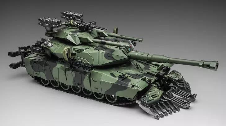 WeiJiang WEI JIANG M04 M-04 Brawl Transformation Alloy Oversize SS Leader Camouflage Tank M1A1 Mode KO Action Figure Robot Toys