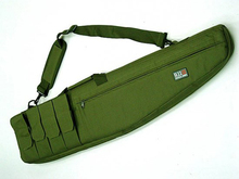 Tactical 911 47″ 10.5″ 1.2m 4 Pouches rifle gun slip rifle bag Case Padding Protection with Shoulder strap Sling
