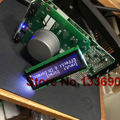 1 pièces z5500 z680 système de haut-parleurs écran lcd spi interface série TM202QDCU6 VDS affichage VC-B200252 nouvel affichage