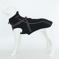 Hellomoon Waterproof Four Sided Bomb Compound Fleece Jackets Four Seasons Waterproof Large Dog Pet Clothes