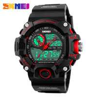 SKMEI Brand Men Sports Watches Waterproof Fashion Casual Quartz Watch Digital And Analog Military Multifunctional Wristwatches