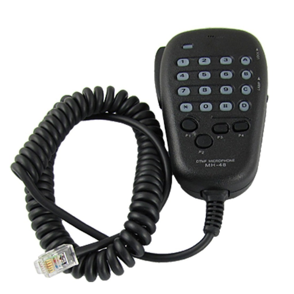 6 Pin Mh-48a6j Handheld Shoulder Mic With Button For Yaesu Car Mobile Radio Ft-1500 Ft-1802 Ft-1900 Ft-2600 Ft-2800 Ft-2900 Ft-3