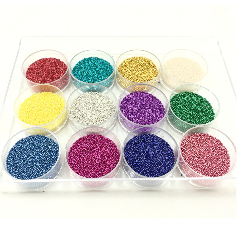 1 Set Mixed Colors Seed Beads 0.7mm With Acrylic Box DIY Crafts Scrapbook Jewelry Making
