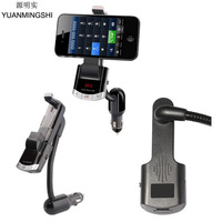Wireless Bluetooth Car FM Transmitter Radio Adapter MP3 Music Player Car Kit With Phone Mount Holder
