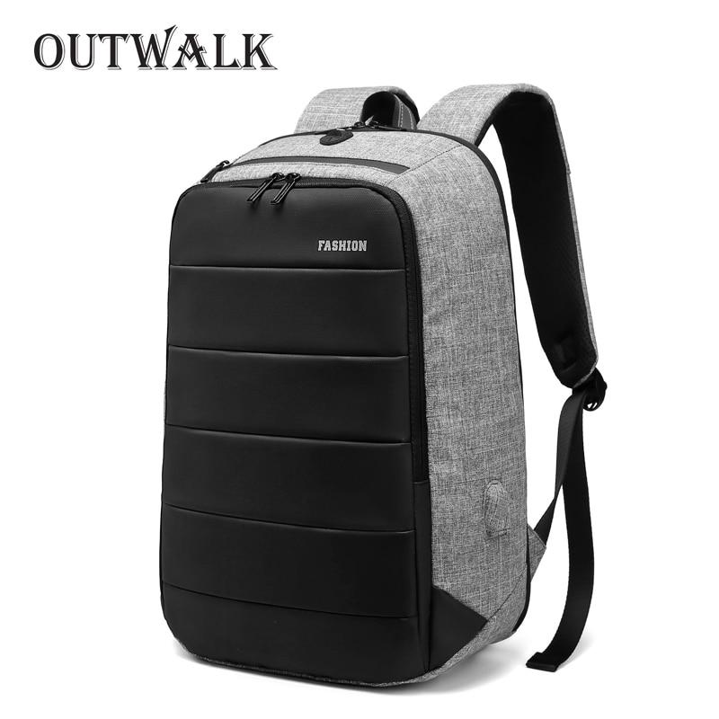 Sac à dos 15.6 pouces Anti-voleur USB sac à dos pour ordinateur portable pour femmes sac à dos d'ordinateur sac adolescents garçons mâle Mochila hydrofuge