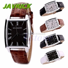 Luxury Brand Mens Watch Stainless Steel Leather Band Sport Military Quartz Analog Wrist Watches Male Clock Moment