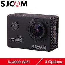 Оригинал SJCAM SJ4000 WiFi Камера Действий 2.0 «ЖК-Экран Спорт DV 1080 P HD Подводные 30 М Водонепроницаемый мини-Видеокамеры SJ 4000 Cam