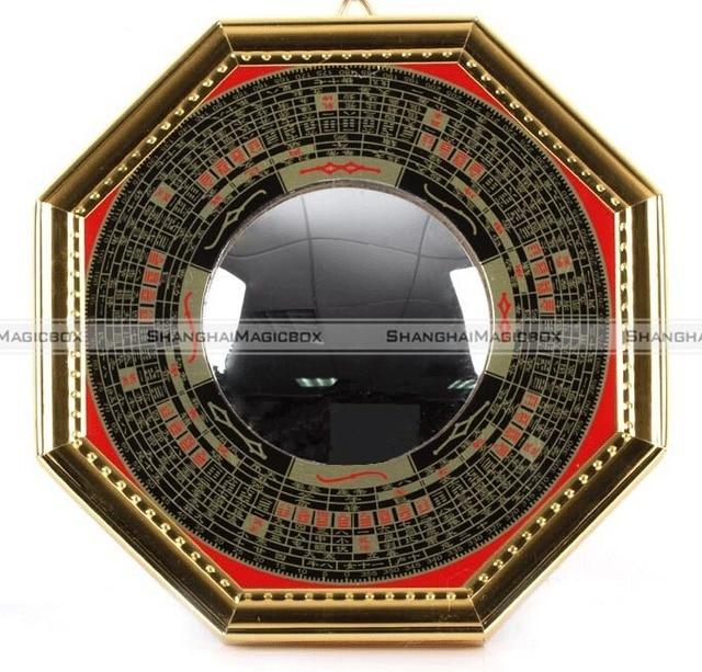 Spiegel Feng Shui shanghaimagicbox bagua spiegel feng shui bolle pakua 5 ba gua pa