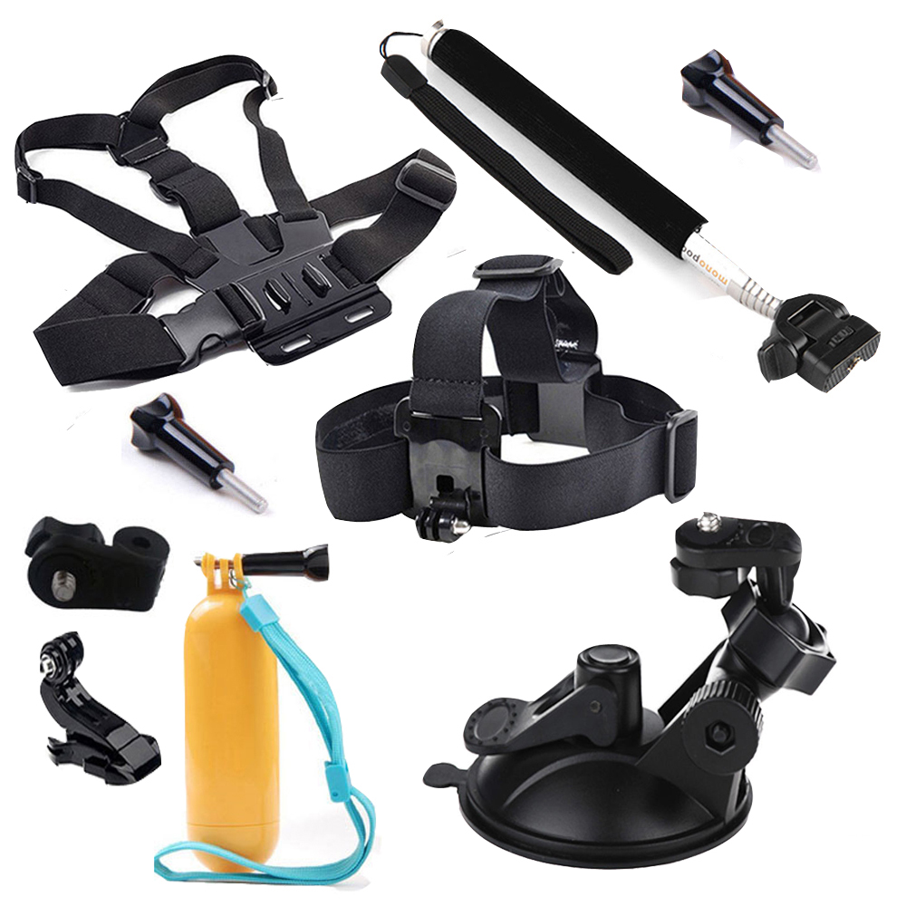 For Ion Air Pro Sports Accessories Kit for Sony Action Cam HDR-AS100V AS20 AS200v AS30 AS15 AZ1 Mini FDR-X1000V/W 4K