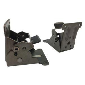 Image 3 - 잠금 확장 테이블 침대 다리 다리 강철 접이식 접이식 지원 브래킷 나사 홈 하드웨어