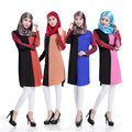 Camisa vestido turco Islâmico dubai abaya muçulmano vestuário Islâmico Muçulmano kaftan Vestido abaya hijab jilbab turco 33142