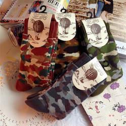 10 пар/лот Новая мужская Носки для девочек махровые Носки для девочек толстые теплые камуфляж махровые хлопковые носки оптовая продажа